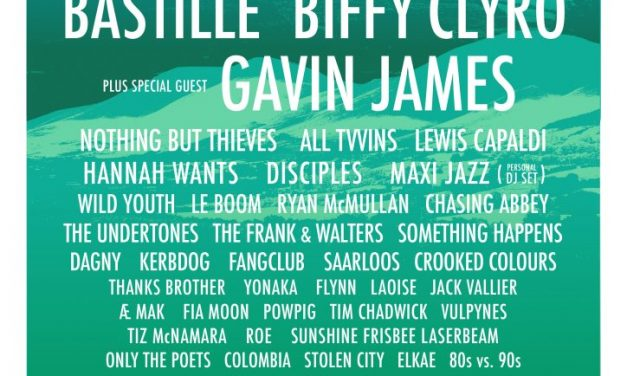Gavin James and Lewis Capaldi  added to Indiependence Music & Arts Festival