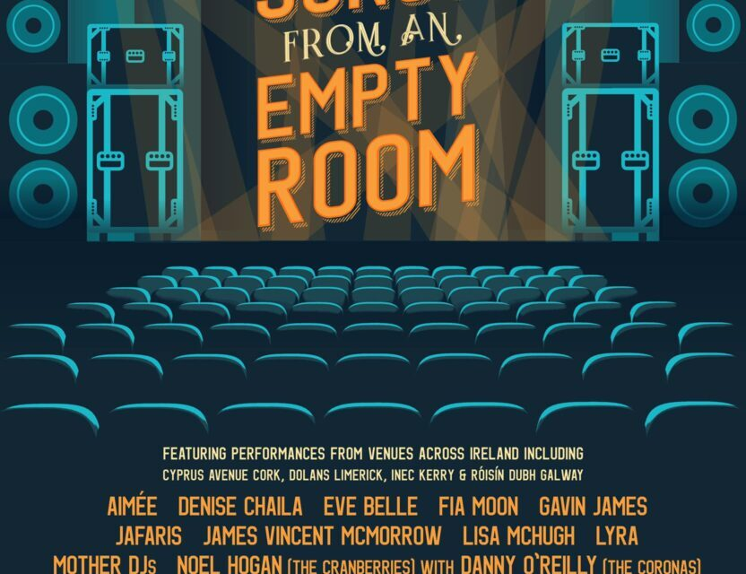 Irish acts set to perform as part of Songs from an Empty Room
