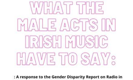 Male artists and media respond to Gender Disparity Data Report on Irish Radio